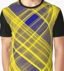 Lightness Entangled (Blue / Yellow) Graphic T-Shirt