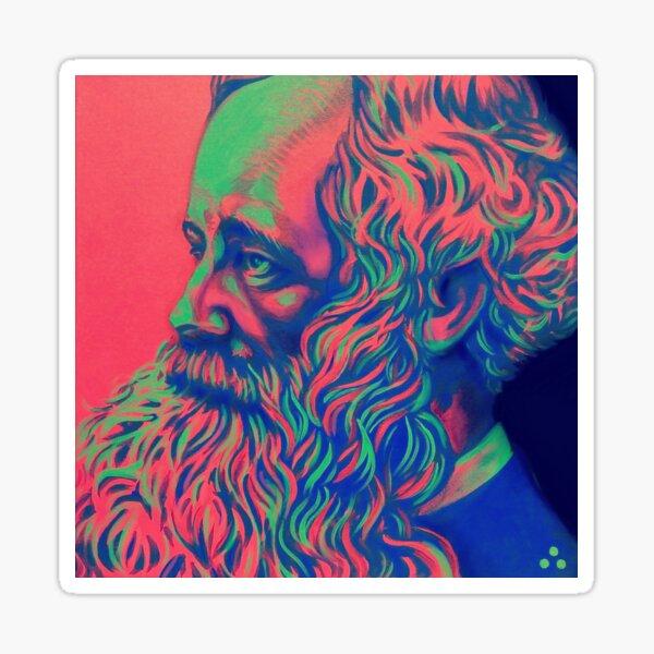 James Clerk Maxwell Sticker
