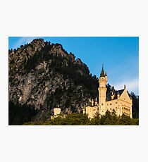 Neuschwanstein Castle Sunset - Bavaria - Germany Photographic Print
