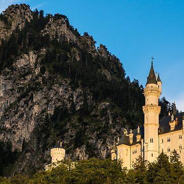 Neuschwanstein Castle Sunset - Bavaria - Germany by ultimateplaces