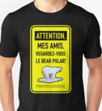 le bear polar sign/lemon Unisex T-Shirt