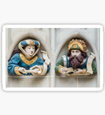 Last Judgement Sculptures - Minster Cathederal - Bern Sticker