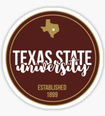 Texas State - Style 17 Sticker