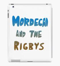 Mordecai and the Rigbys iPad Case/Skin