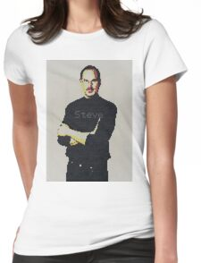 Tribute to Steve Jobs Womens Fitted T-Shirt