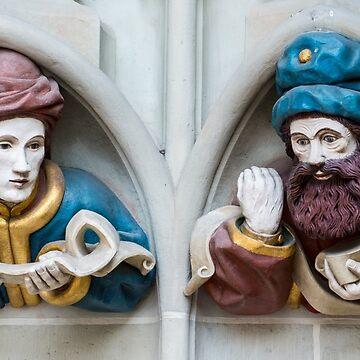 Last Judgement Sculptures - Minster - Bern by ultimateplaces