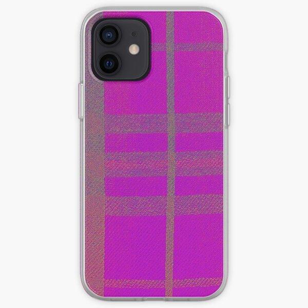 Pink Tartan iPhone Soft Case
