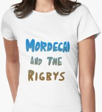 Mordecai and the Rigbys Women's Fitted T-Shirt