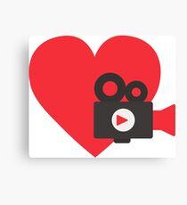 Love video Canvas Print