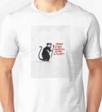 Banksy - Out of bed rat T-Shirt