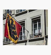 Coat Of Arms - Bern Old City - Switzerland Photographic Print