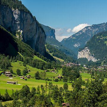 Lauterbrunnen Valley - Swiss Alps - Switzerland by ultimateplaces