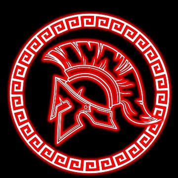 Spartan Logo by InitialSeven