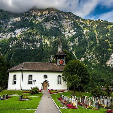 Kandergrund Church - Swiss Alps - Bern Canton - Switzerland by ultimateplaces