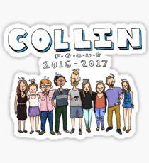 Collin Focus Sticker