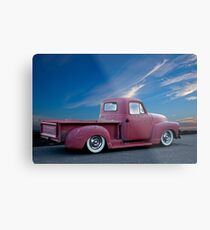 1947 Chevy 'La Patina' Pickup Truck Metal Print