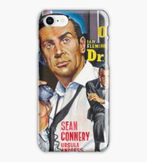 James Bond Sean Connery painting iPhone Case/Skin