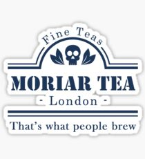 MoriarTea: That's What People Brew Sticker