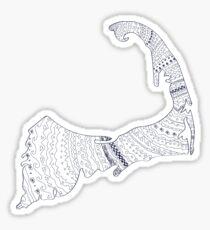 Cape Cod Sticker Sticker