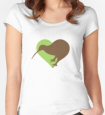 Eco Kiwi Women's Fitted Scoop T-Shirt