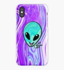 Psychedelic Alien Phone Case  iPhone Case/Skin