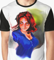 Displaced Bust Graphic T-Shirt