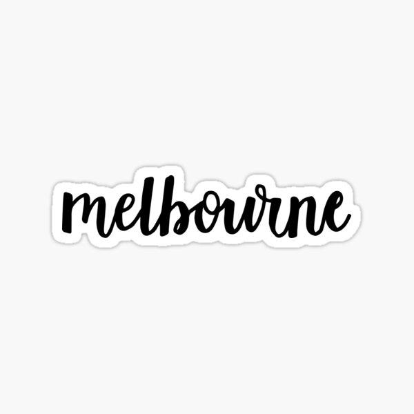 melbourne Sticker