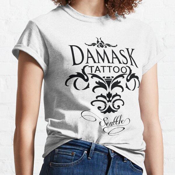 Damask Tattoo Seattle Classic T-Shirt