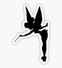 Tinkerbell Silhouette Sticker