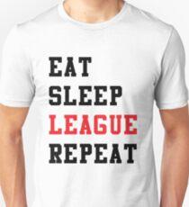League of Legends - Eat Sleep League Repeat T-Shirt