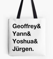 Deep learning quartet Tote Bag