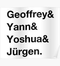 Deep learning quartet Poster