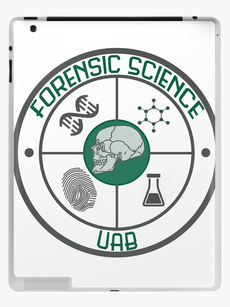Forensic Science Uab Logo Ipad Case Skin By Hannersgab Redbubble