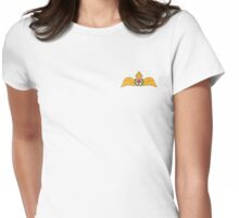 MJN logo small Womens Fitted T-Shirt