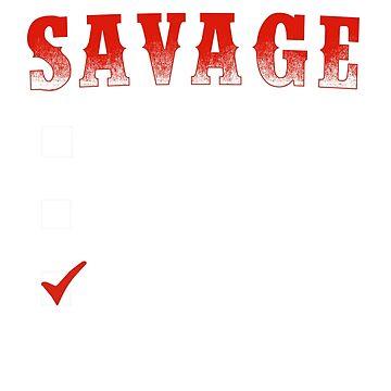 Level Of Savage Low Medium Capricorn by teelover26