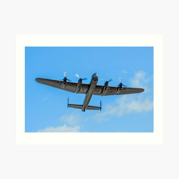 Avro Lancaster 2019 /'Leader/' Blue sky canvas prints various sizes free delivery