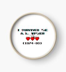I survived the A.I. winter (8-bit 3D) Clock