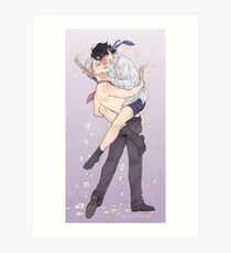 Wedded ice dorks Art Print