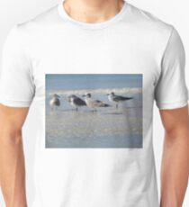 Birds on the Beach Unisex T-Shirt