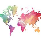 Watercolor World by Designs111