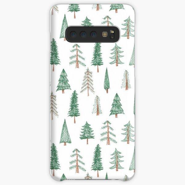 evergreen tree pattern Samsung Galaxy Snap Case