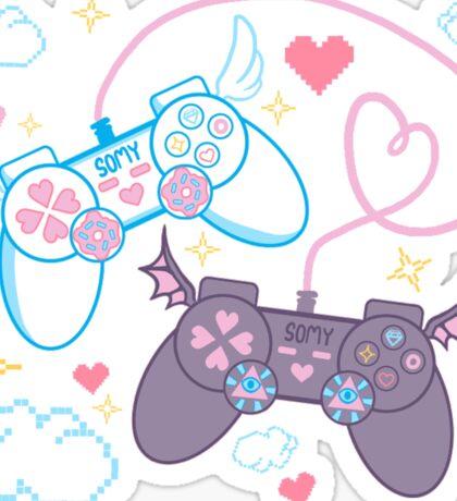 kawaii video gamez Sticker