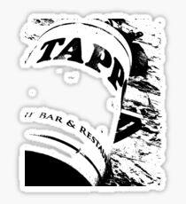 Cork Sign Sticker