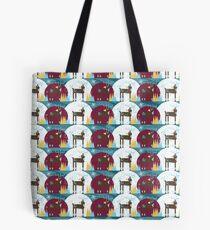 Winter Friends - Reindeer Tote Bag