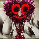 Glittery Heart Guy by DrDetective .