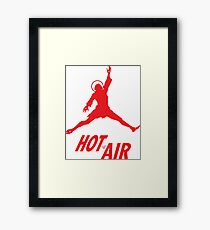 Air Jesus by Tai's Tees Framed Print