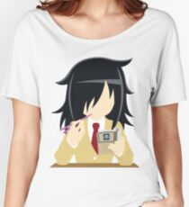 watamote Women's Relaxed Fit T-Shirt