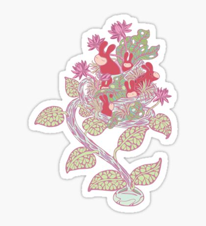 Germination Sticker