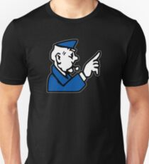 Go To Jail Monopoly Unisex T-Shirt