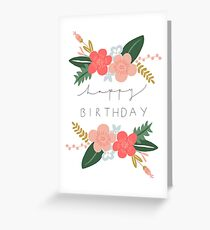 Fiona Happy Birthday/Greetings Card Greeting Card